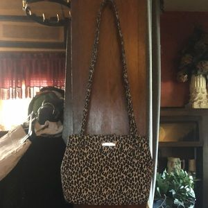 Nine West Leopard Handbag